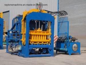 Qt4-15 Automatic Hydraulic Hollow Paving Concrete Block Brick Making Machine pictures & photos