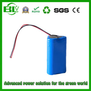 Lithium Battery 11.1 V 2600 mAh 18650 Battery Pack for Miner Lamps pictures & photos