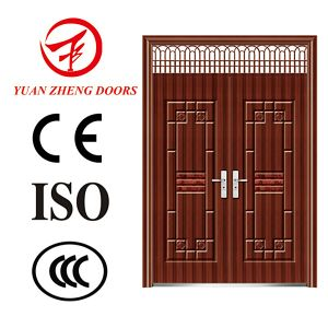 Italian Steel Double Security Exterior Door Design pictures & photos