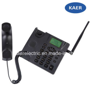 GSM Dual SIM Card Fixed Wireless Phone pictures & photos