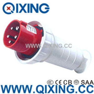 Cee/IEC IP67 5p 400V Red Waterproof Power Plug pictures & photos
