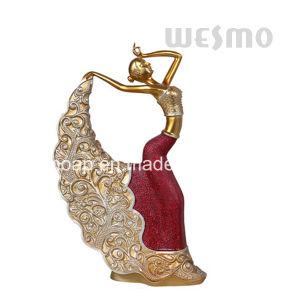 Resin Pavane Sculpture (WTS0007D-L/M/S) pictures & photos