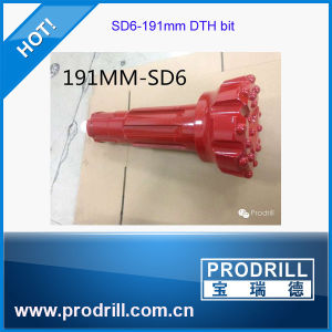 SD6-191mm Down The Hole Button Bits for Drilling pictures & photos