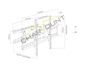Buy Wholesale From China LCD TV Articulated Arm Wall Bracket (CT-WPLB-2202) pictures & photos