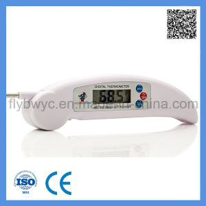 Food Meat Thermometer Digital Thermometer for Cooking Kitchen BBQ Milk Liquid Thermometer White pictures & photos
