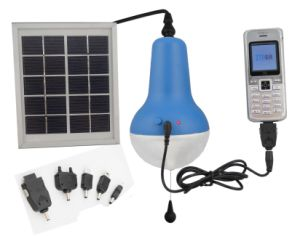 Solar Light with Mobile Charger for Indoor/Outdoor pictures & photos