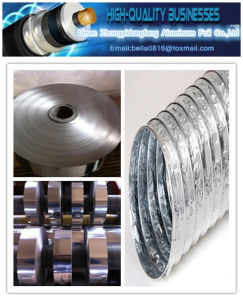 Al/Pet Aluminum Polyester Film Laminated Tape for Flexible Air Ducts (single side) pictures & photos