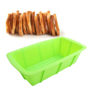 Silicone Rectangle Shape Toast Mould Silicone Pan Silicone Mold pictures & photos