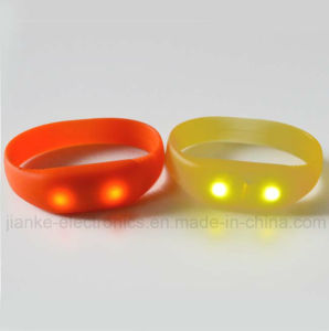 Party Music LED Lighting Bracelets with Logo Print (4010)