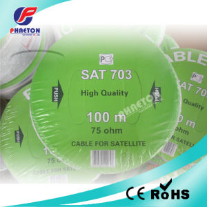 Sat703 RF Coaxial Cable of Satelite TV Cable pictures & photos