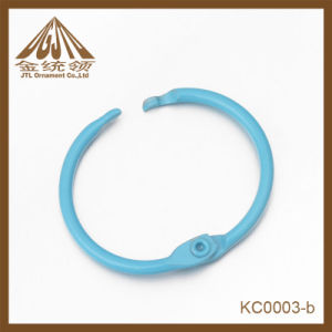 Fashion Nice Quality Light Blue Binder Ring Clips Wholesale pictures & photos
