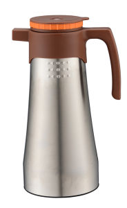 Double Wall Stainless Steel Starbucks Coffee Pot with Big Capacity pictures & photos