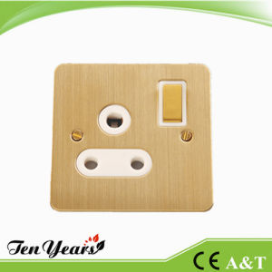 3-Feet Round Wall Switched Socket