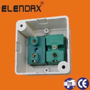 Indonesia Electrical ABS Copper Wall Socket Switch (S2019) pictures & photos