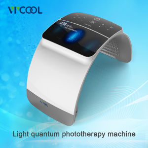 Skin Whitening Face Beauty LED Quantum Light Therapy Device pictures & photos