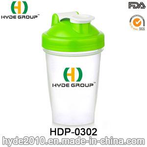 400ml BPA Free Plastic Blender Shaker Water Bottle, Customized PP Plastic Protein Shaker Bottle (HDP-0302) pictures & photos