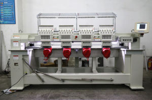 4 Head Computerized Embroidery Machine 1204c with Cap Tshirt Functions pictures & photos