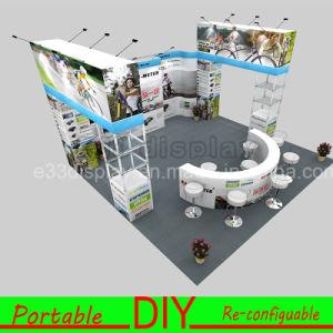 E33 Aluminium Portable Modular Trade Show Exhibition Booth Stand Material pictures & photos