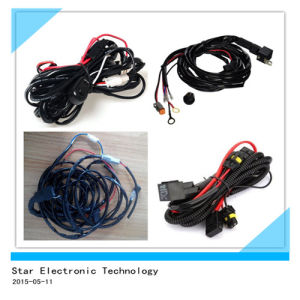 Universial Automotive Car Single Light Wire Harness with Relay Socket and Switch 180W pictures & photos