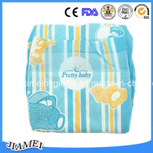 Ghana Supa Santi Disposable Baby Diapers with Full Elastic Waistband pictures & photos