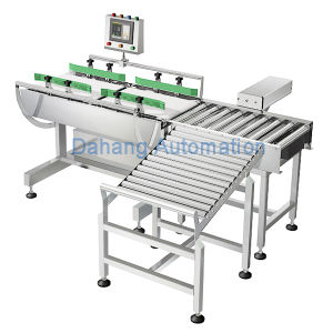 Mengniu Milk Industry Conveyor Belt Weight Check Machine pictures & photos
