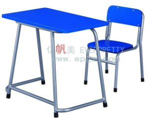 High Quality Solid Wood Double Table and Desk for Children pictures & photos