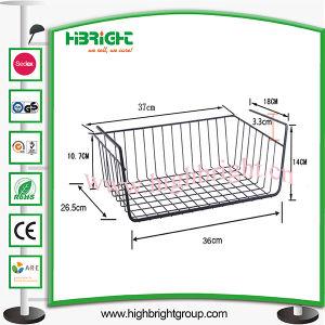 Storage Basket Rack Desktop Frame Storage Rack Hanging Basket pictures & photos