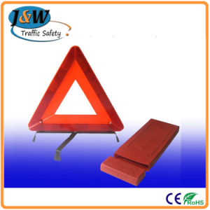 Car Triangle Warning Sign Auto Parts Jw-004 pictures & photos
