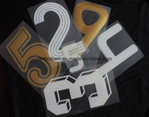Football Number Heat Transfer Label