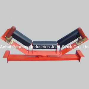 Patent 3-Roll Thrust-Roller Type Upper Centering Idler Set for Belt Conveyor pictures & photos
