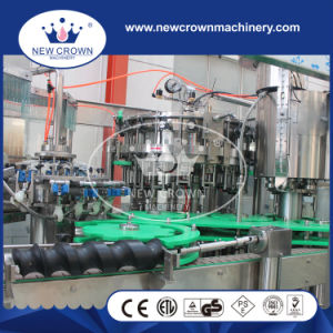 Automatic Foam Injector Device Installed Beer Bottling Machine for Glass Bottle pictures & photos