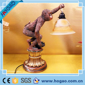 Creative Customized Resin Monkey Lamp Home Decoration pictures & photos