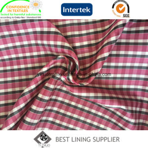 Fashion Check Patterns Men′s Suit Check Lining Fabric China Supplier pictures & photos