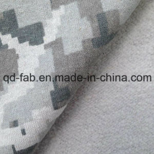 Hemp/Cotton Full Print Fleece (QF14-1466) pictures & photos