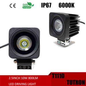 "LED Work Light 2"" 10W 9-32V Square 900 Lumen (T1110)"