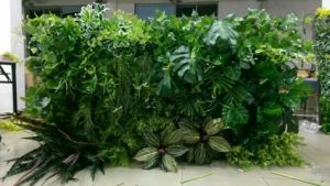 High Quality Artificial Plants of Green Wall Gu-Mx-Green-Wall009 pictures & photos