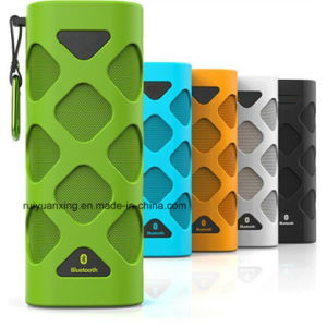 Portable Bluetooth Speaker with Built-in Microphone (Green) pictures & photos