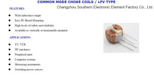 Lgh Toroidal Wirewound Choke Coil Inductor with ISO9001 pictures & photos