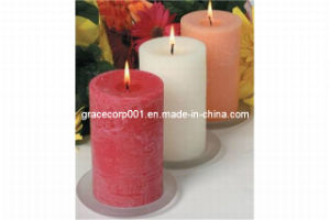 Aroma Handmade Pillar Candle 7*10cm pictures & photos