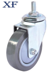 Swivel Small PU Caster Wheel with Polyurethane Wheels pictures & photos