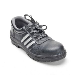 Steel Toe Cap and Steel Plate PU Injected Outsole Safety Shoes