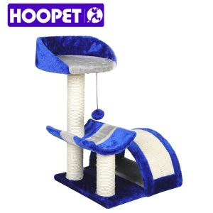 Ocean Blue Cat Tree with Scratching Post pictures & photos