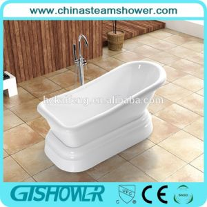 Freestanding Acrylic Bathtub for Home Bathroom (BL1012T) pictures & photos