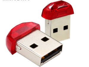 Mini Plastic USB Flash Drive 32GB Pendrive 16GB Memory Stick 8GB USB Gift Red Color pictures & photos