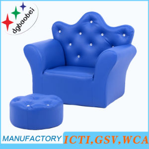 Fashion Home Children Furniture/Kids Sofa and Ottoman/Baby Chair (SXBB-17-02) pictures & photos