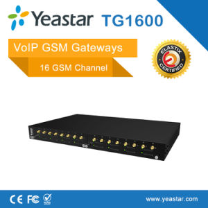 Yeastar 16 SIM Card GSM Channels VoIP GSM Gateway pictures & photos