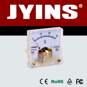 45*45mm DC Analog Panel Voltmeter (JY-91C4-V) pictures & photos
