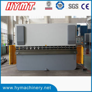 We67k-125X3200 Electro-Hydraulic Synchronous Hydraulic Steel Plate Folding Machine pictures & photos