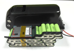 48V 13ah (33G 13S4P) Qingtian Model Lithium Battery Pack with USB Charge Port pictures & photos