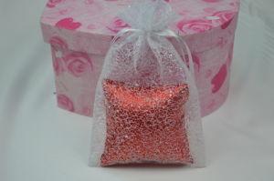 White Net Drawstring Bag for Gift Packaging/Mesh Bag